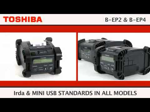 Toshiba B-EP Portable Label Printers