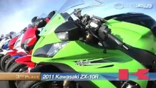 10. 2011 Kawasaki ZX-10R Track Comparison