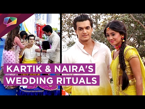Kartik and Naira's Pre Wedding Rituals | Yeh Risht