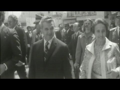 Cum făceau cumpărături soţii Ceauşescu (video)