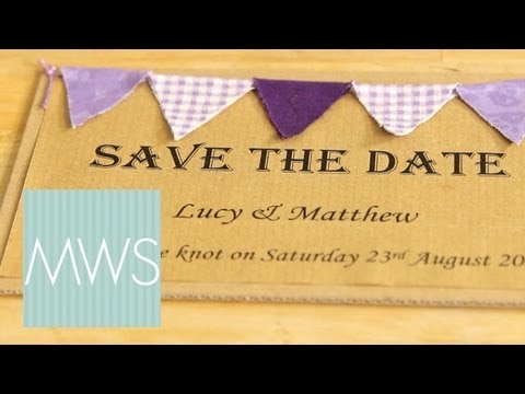 Wedding Save The Date: Maid At Home 1