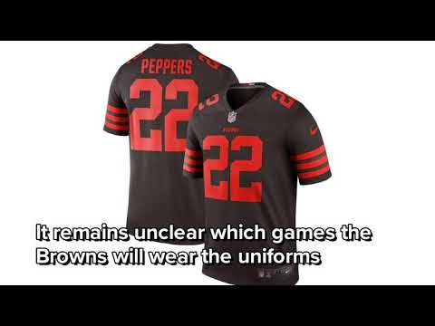Cleveland Browns to wear 'Color Rush' uniforms multiple times in 2018