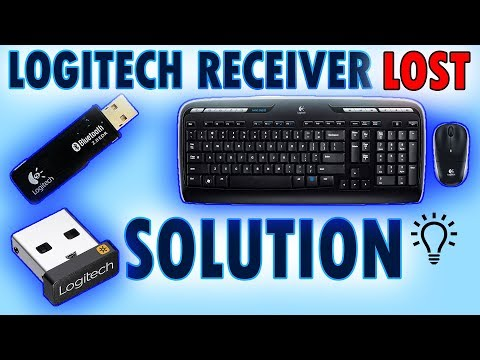 Logitech LOST wireless receiver replacement 2017-2018