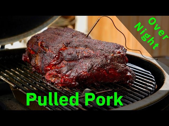 How to BBQ Pork Butt in a Ceramic Grill | Primo Oval XL 400