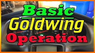 9. How To Start A Honda Goldwing