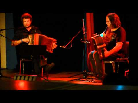 Emmanuel Pariselle en Christian Maes in duet tijdens het docentenpodium