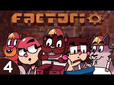 Baer & Pals Play Factorio (Ep. 4) - Red Science
