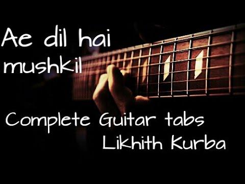 Guitar phir mohabbat guitar tabs : Tum hi ho-Aashiqui 2(Arijit Singh) Complete Guitar tabs Lesson ...