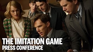 THE IMITATION GAME Press Conference | Festival 2014