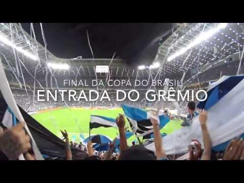 Final da Copa do Brasil - Grêmio 1x1 Galo | Entrada do Grêmio - Geral do Grêmio - Grêmio