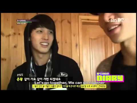 (ENG) 121218 BTOB B+ Diary Ep 3 Part(1/4) (видео)