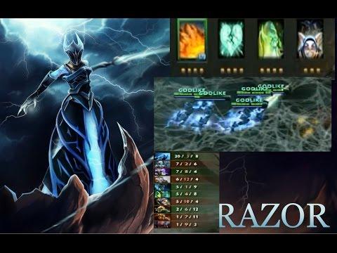 Dota 2 Ability Draft Razor + Meepo Imba Combo