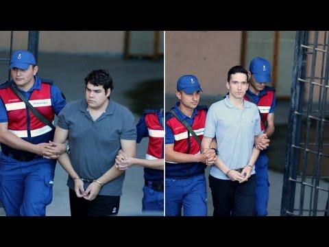 Ελεύθεροι οι δύο Ελληνες στρατιωτικοί, επιστρέφουν στην Ελλάδα…