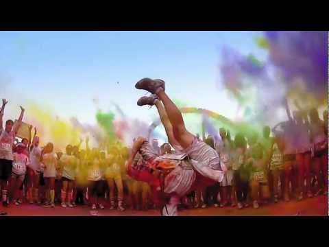 0 Une course bien colorée   The color Run