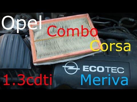 Opel corsa в замена воздушного фильтра фото