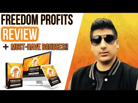 Freedom Profits Review - ✋STOP✋ Don't Buy Without My CUSTOM Bonuses!