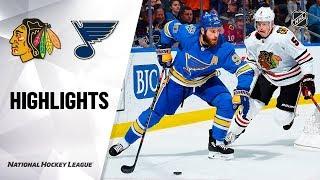 NHL Highlights   Blues @ Blackhawks 12/14/19 by NHL