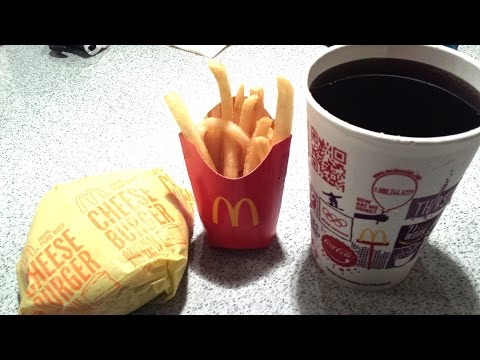 The Fastest Happy Meal Ever Eaten (видео)