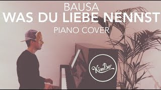 Video Bausa - Was Du Liebe nennst (Piano Cover) +NOTEN MP3, 3GP, MP4, WEBM, AVI, FLV Januari 2018
