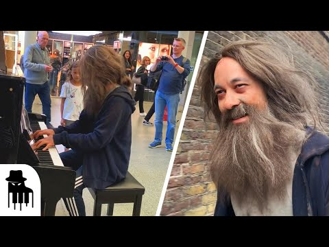 When a pro pianist goes undercover as a homeless man...