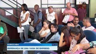 Sorocabanos aproveitam a primeira segunda-feira do ano para buscar emprego