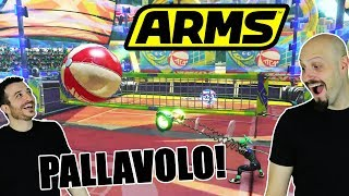 ARMS: https://www.youtube.com/watch?v=BDzCgZqUMX0Nuovamente su Arms, questa volta con la pallavolo! Questa modalità che ci ha ricordato per certi versi Tekken Ball, vi piace? Maglie: http://bit.ly/maglieQDSSGuarda: https://www.youtube.com/user/Queiduesulserver2/videos?sort=dd&shelf_id=1&view=0●TELEGRAM: http://bit.ly/teleQDSS● I ROGNOSI: http://www.youtube.com/iRognosi● QDSS: http://www.youtube.com/Queiduesulserver● PORTALE: http://www.qdss.it● FACEBOOK: http://bit.ly/FBQDSS● STEAM: http://bit.ly/SteamQDSS● TWITTER: https://twitter.com/Quei2SulServer● LIVE: http://bit.ly/QDSSLIVE● INSTAGRAM: https://instagram.com/irognosi/Vuoi inviarci qualcosa?Clim4lab (per QDSS)via Montecarlo, 48Termoli 86039 (CB)* Attenzione: non abitiamo/lavoriamo qui. Ci aiutano solo con la posta.* L'indirizzo potrebbe cambiare quindi riferitevi sempre a quello sotto i nuovi video.Puoi parlare con noi su:● TS3: ts.qdss.eu:9988Grazie per la Visita da Quei Due Sul Server, Redez e Synergo.