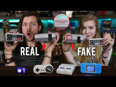 My Girlfriend Bought Me FAKE Nintendo Consoles?!