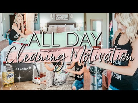 EXTREME ALL DAY CLEAN WITH ME 2019| ULTIMATE WHOLE HOUSE CLEANING MOTIVATION| SAHM CLEANING ROUTINE