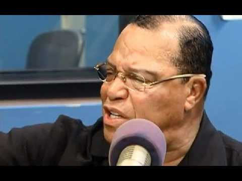 minister - Minister Farrakhan smashes on media reporters during a commercial break on a local Chicago radio station.