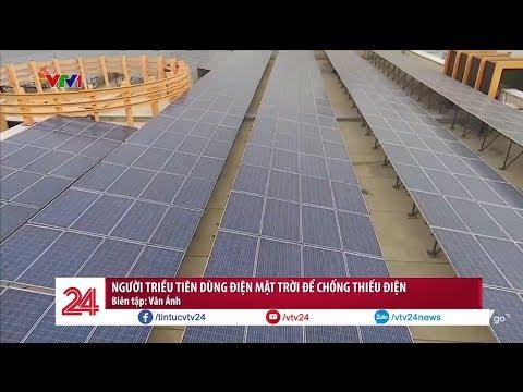 Người Triều Tiên sử dụng điện mặt trời để chống thiếu điện @ vcloz.com