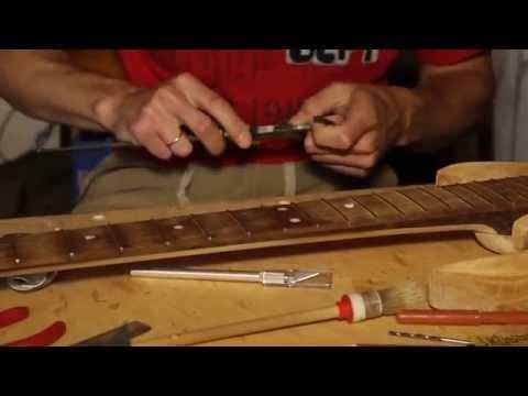 Замена ладов гитары своими руками