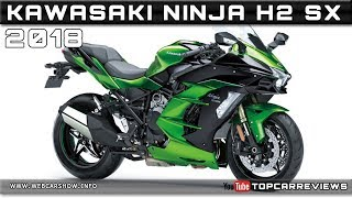 6. 2018 KAWASAKI NINJA H2 SX Review Rendered Price Specs Release Date