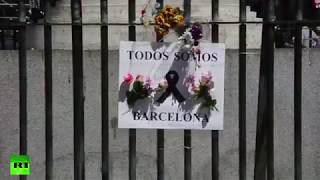 """Not in my name"" shout Muslims in Barcelona"