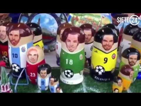 'Matruscas' futboleras conquistan Moscú