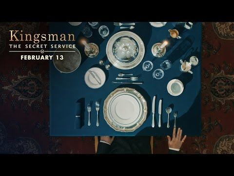 Kingsman: The Secret Service (Viral Clip 'Proper Utensils')