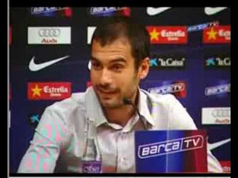 Entrevista de Prensa a Josep Guardiola