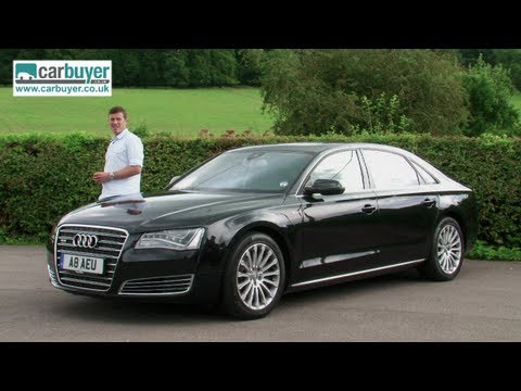 Audi A8 saloon review – CarBuyer