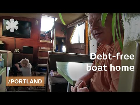 boat - Jane and Tony had lived on a sailboat when they were child-free and loved it, so when their landlord raised the rent on their 960-square-foot apartment by 19...