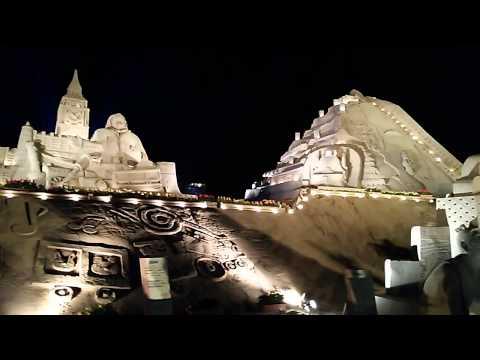 Japan Sand Statue Festivals in Kagoshima, Japan (4 May 2015) (VIDEO)