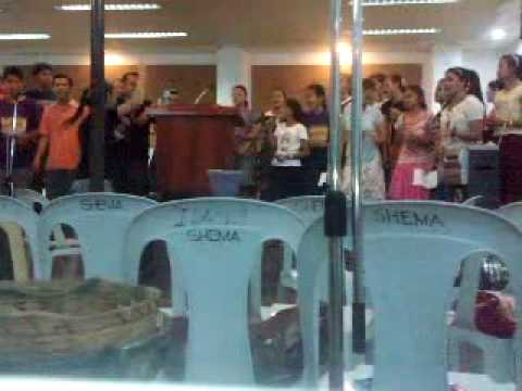 Apostolic Choir singing He reigns.mp4