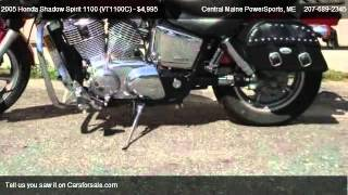 10. 2005 Honda Shadow Spirit 1100 (VT1100C)  - for sale in LEWISTON, ME 04240