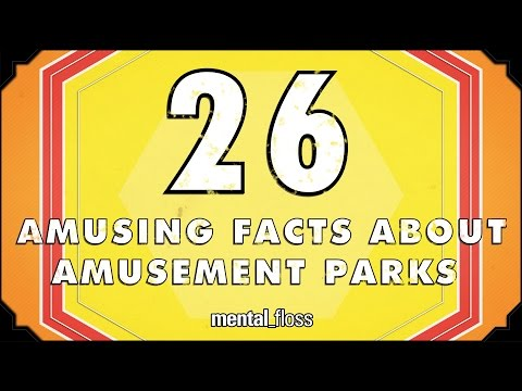 26 Amusing Facts About Amusement Parks – mental_floss List Show (Ep.218)