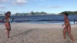 Takie rzeczy tylko na plażach w Brazylii