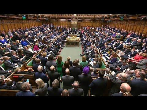 Großbritannien: Brexit-Debatte im Parlament - May kämpft um Zustimmung