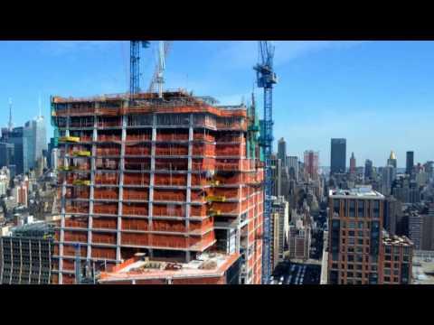 Hudson Yards Construction - December 2012 - April 2017