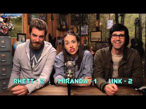 link - I interview rhett and link and we play the bEST GAME I EVER EVEN SEEN! Tweet this video if u lick me. LISTEN TO MY INTERVIEW WITH RHETT AND LINK! - SoundClou...