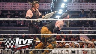 Nonton Braun Strowman Vs Kane Table Match WWE Live Event Abu Dhabi UAE 2017 Film Subtitle Indonesia Streaming Movie Download
