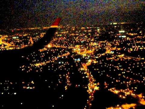 Chegando em Nova York anoite de Philadelphia e vindo de Seattle