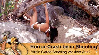 Tortola - Unfall beim sexy Virgin Gorda Shooting