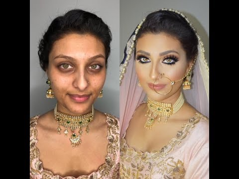 Video Indian | Bollywood | South Asian Bridal Makeup Start To Finish - @blueroseartistry download in MP3, 3GP, MP4, WEBM, AVI, FLV January 2017